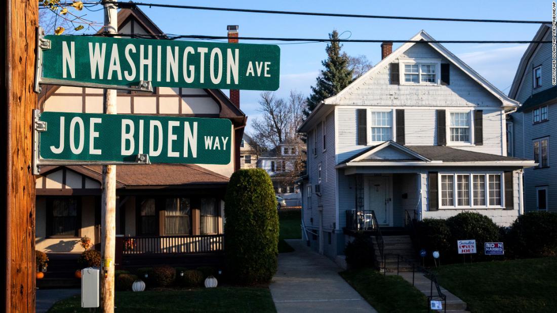 """اسكرانتون ، پنسیلوانیا ، از """"بچه شراب"""" معروف رئیس جمهور منتخب احترام می گذارد"""